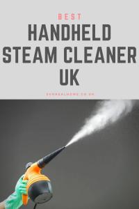 best handheld steam cleaner uk