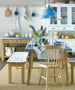 kitchen-lighting ideas uk highlight colour