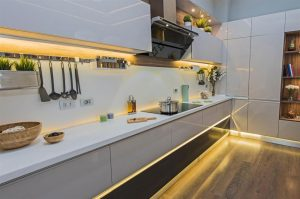 kitchen lighting ideas uk led strip