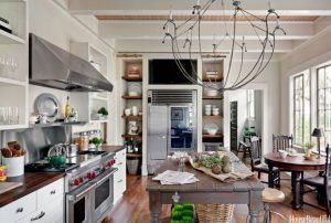 kitchen lighting ideas uk statement chandellier