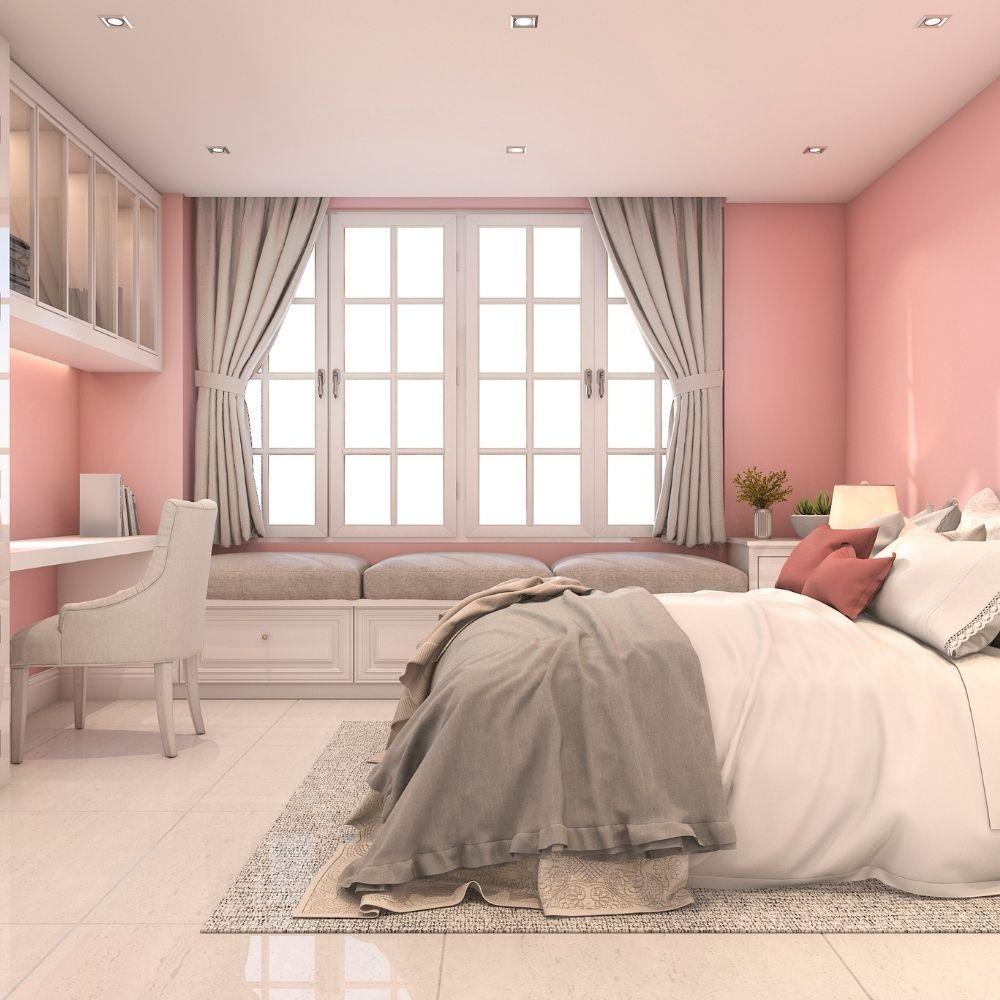 Blushed Pink Bedroom
